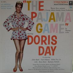 The Pajama Game — Doris Day #vintage #vinyl #records