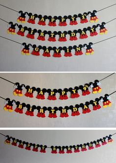 Mickey Mouse birthday decorations Mickey por RaisinsPartySupplies