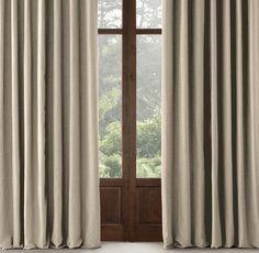 Perennials® Textured Linen Solid Drapery