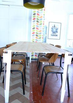 Notre table de salle-à-manger