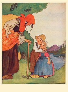 Rie Cramer sprookjes van Anderson 1915 , Ib en de kleine cristine