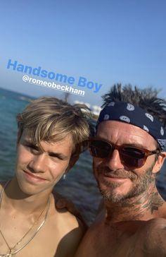 David Beckham Family, Mirrored Sunglasses, Mens Sunglasses, Nike Football, Celebrities, Hair Styles, Boys, Daily Activities, Random
