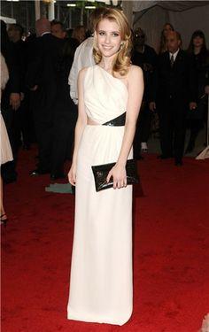 Emma Roberts. MET, 2011.