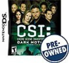 CSI: Crime Scene Investigation: Dark Motives — PRE-Owned - Nintendo DS