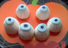 Vickys Halloween Bloodshot Eyeball Truffles Recipe -  Are you ready to cook? Let's try to make Vickys Halloween Bloodshot Eyeball Truffles in your home!