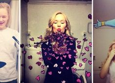 So awesome, the ultimate This creative artist uses beautiful cartoon artwork, a mirror and her camera phone to create some stunning selfies! Foto Fun, Cool Mirrors, Mirror Art, Mirror Ideas, Photoshop, First Girl, Belle Photo, Pop Culture, Cool Stuff