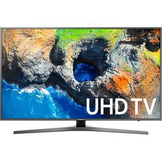 """If you're passionate about IT and electronics, like being up to date on technology and don't miss even the slightest details, buy Smart TV Samsung Ultra UH LED Wifi Black at an unbeatable price. WiFi: yes LED Smart TV: yes Ultra HD Internet Tv, Wi Fi, 4k Uhd, Tv Samsung 4k, Tv 32 Pouces, Tv Led 40, Led Tvs, Tv 50"""", Rue Du Commerce"""