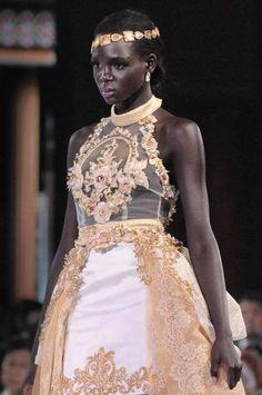 Miss South Sudan  ...Her name is Modong Manuela Mogga