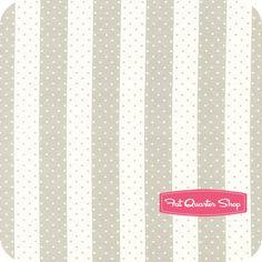 Vintage Modern Cotton Pebble Dot Stripe Yardage SKU# 55045-13 - Fat Quarter Shop