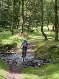 Nice #MTB trail found at Exmoor, UK. #cycling #bicycle