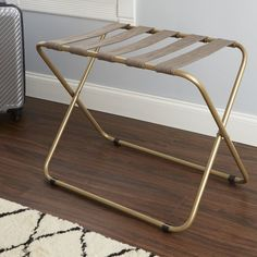 Rhys Metal Folding Luggage Rack