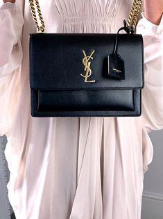 Ysl Crossbody Bag, Ysl Bag, Ysl Black Bag, Ysl Handbags, Black Handbags, Purses And Handbags, Black Designer Bags, Best Designer Bags, Luxury Purses