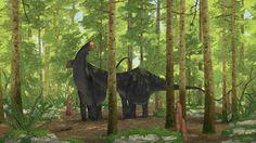Apatosaurus by John Conway