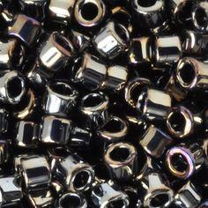 Seed Bead-11/0 Delica-26 Met Dk Steel-Miyuki-7 Grams