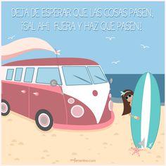 Tú decides tu futuro #frasedeldia #surf #motivacion