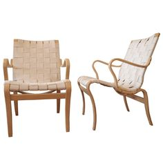 1stdibs - Pair of Bruno Mathsson Chairs explore items from 1,700  global dealers at 1stdibs.com