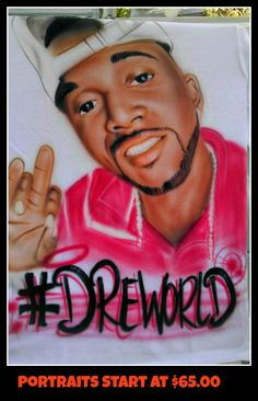 Airbrushed RIP T-Shirt #DreWorld