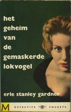 The case of the daring decoy - Erle Stanley gardner. Vintage paperback cover - Foto by Ed van der Elsken