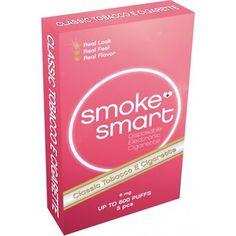E-sigaretter Classic med 6 mg nikotin
