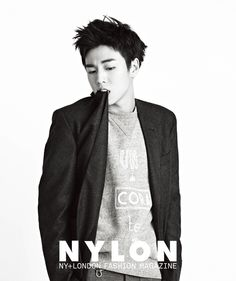 Lee Hyun Woo - Nylon Magazine January Issue '15
