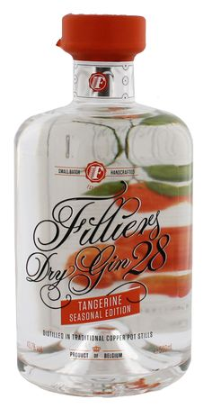 Filliers Dry Gin 28 Tangerine Seasonal Edition 0.5L 43,7% - Belgie