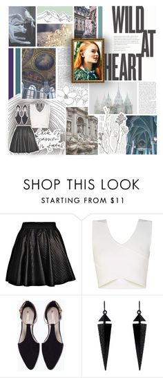 """""""the selection · round one · heading straight to the castle"""" by fangirl-musician ❤ liked on Polyvore featuring Garnier, Boohoo, BCBGMAXAZRIA, Zara, Oasis and princeoliverselection"""