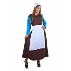 Adult Cinderella Peasant Gown Costume