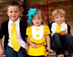 boy,girl, boy sibling photo idea    Retro Girls bib dress with ruffle  Layla dress-children clothing. $44.00, via Etsy.