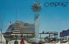 Pavilion of France at Expo - Montreal, Quebec by What Makes The Pie Shops… Expo 67 Montreal, Montreal Ville, Montreal Quebec, Quebec City, Canada Eh, Today In History, Old Port, World's Fair, Best Cities