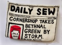 Lucy Sparrow, a London-based artist converts Abandoned Cornershop Into A Giant Fabric Art Installation