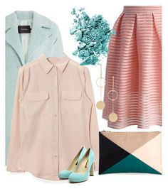 """""""💐"""" by tanialap ❤ liked on Polyvore featuring Chicwish, Tara Jarmon, Equipment, Sole Society, Rupert Sanderson, Cloverpost and NARS Cosmetics"""