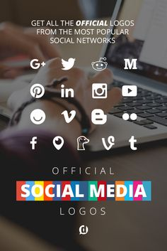 All the current official social media logos, and why you should never use the outdated ones! Click through to get all the free assets you need to keep your social media images up to date! Social Media Images, Social Media Logos, Social Media Design, Social Media Tips, Social Networks, Social Media Marketing, Content Marketing, Seo Services, Social Platform