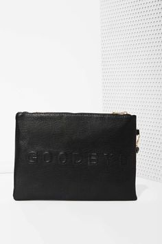 Hello Goodbye Vegan Leather Clutch | Shop What's New at Nasty Gal