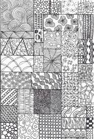 Resultado de imagen de zentangle patterns ideas