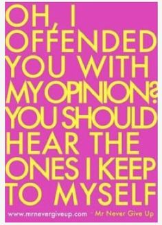 Offend