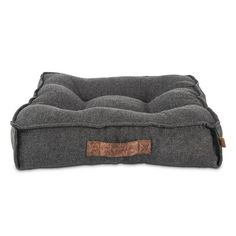 PCO Harmony Grey Lounger Memory Foam Dog Peti
