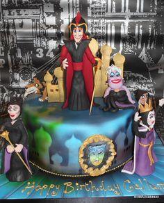 Disney Villians ! for my lovely friend Calum   https://www.facebook.com/Blissfulcakesxx?ref=hl