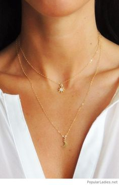 star-and-half-moon-necklaces