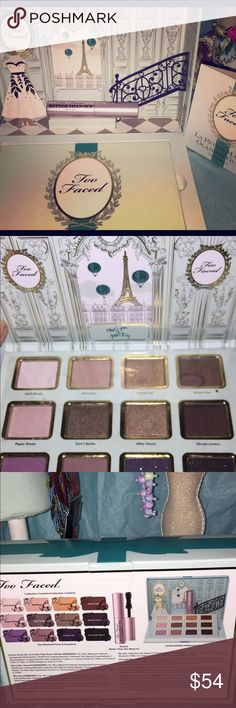 NEW•LIMITED EDITION TOO FACED LA PETIT MAISON New in box. 2015 ulta exclusive limited edition. Have held on to it for long enough. Clearing some space. Always authentic. Great palette by too faced. Price is firm unless bundled or ill be happy to return it to my collection :) Too Faced Makeup Eyeshadow