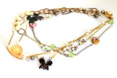 SALE 50 OFF Boho Bib Necklace4 necklaces in 1 by DarlingBracelets
