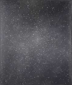 Vija Celmins, Night Sky #2, 1985