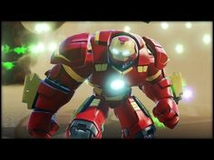 Hulkbuster BOSS BASHIN! Disney Infinity 3.0 Gameplay - YouTube