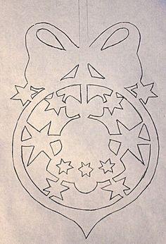 ЖИЗНЬ ПРЕКРАСНА - блог Наталии Юшковой.: Новогодние украшения на окна из бумаги. Часть 1. ФОТО.