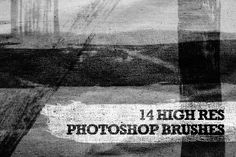 Free Mixed Brushes for Photoshop - Lots of other free photoshop backgrounds and textures and patterns