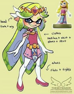 I want to be a this girl in Splatoon 2 ...