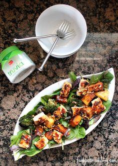 Winter Vegetable Grilled Chicken Salad
