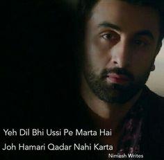 isa akir q hota hai Jokes Quotes, Lyric Quotes, Hindi Quotes, Movie Quotes, Poetry Quotes, Lyrics, Real Life Quotes, True Quotes, Pain Quotes