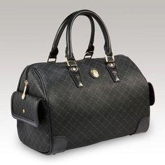 f21b40228b66 Rioni s Signature Boston Bag. Gentle dark gold