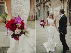 Carriage Works, Sydney - Photographer, Dan O'Day - Dress by Steven Khalil, Flowers by My Violet - www.danodayphotoblog.com