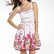 My Michelle Floral Border Party Dress  JCPenney